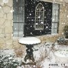 Bird bath with snow in flash Community Photo By: Robert Osterhaus Submitted By: Robert, edmond