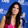 "Actress Sandra Bullock attends the press conference for ""Gravity"" on day 5 of the 2013 Toronto International Film Festival at the TIFF Bell Lightbox on Monday, Sept. 9, 2013 in Toronto. (Photo by Evan Agostini/Invision/AP) ORG XMIT: TOEA109"