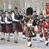 The Highlanders marched and played traditional instruments in the annual Saint Patrick\'s Day Parade in downtown Oklahoma City, OK, Saturday, March 16, 2013, By Paul Hellstern, The Oklahoman