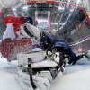 Photo - Russia forward Yevgeni Malkin crashes into USA goaltender Jonathan Quick period of a men's ice hockey game at the 2014 Winter Olympics, Saturday, Feb. 15, 2014, in Sochi, Russia. (AP Photo/Bruce Bennett, Pool)