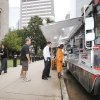 The Big Truck Tacos mobile stand serves customers in front of the Oklahoma County Courthouse in downtown Oklahoma City, OK, Thursday, Sept. 22, 2011. By Paul Hellstern, The Oklahoman