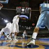 Oktaha\'s Blake Pittman (10) passes the ball inbounds during the first round 2A boy\'s State Basketball Championship game between Northeast High School and Oktaha High School at the State Fair Arena on Thursday, March 8, 2012 in Oklahoma City, Okla. Photo by Chris Landsberger, The Oklahoman