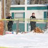 Photo - SHOOTING DEATH / MURDER HOMICIDE: An Elk City woman was shot and killed on Wednesday morning, and her son was taken into police custody after police tased him in the snow. PHOTO BY DEREK MANNING, DAILY ELK CITIAN.