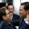 """This film image released by Paramount Pictures shows Jonah Hill, left, and Leonardo DiCaprio in a scene from """"The Wolf of Wall Street."""" Hill was nominated for an Academy Award for best supporting actor on Thursday, Jan. 16, 2014, for his role in the film. DiCaprio was also nominated for best actor. The 86th Academy Awards will be held on March 2. (AP Photo/Paramount Pictures and Red Granite Pictures, Mary Cybulski)"""