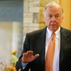 Boone Pickens speaks at a press conference on the Oklahoma State University campus in Stillwater, Okla., Friday, September 5, 2008. BY MATT STRASEN, THE OKLAHOMAN