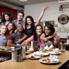 Photo -  The cast of Real World Season 28 at Fuller's Diner.