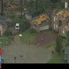 This frame grab provided by KDFW-TV shows storm damage Tuesday, March 3, 2012, in Arlington, Texas. Several reported tornadoes tore through the Dallas area on Tuesday, tossing semis in the air and leaving crumpled tractor trailers strewn along highways and in truck stop parking lots. (AP Photo/KDFW-TV) MANDATORY CREDIT ORG XMIT: CER107