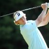 Photo -   Brandt Snedeker hits off the 11th tee during the first round of the Deutsche Bank Championship golf tournament at TPC Boston in Norton, Mass., Friday, Aug. 31, 2012. (AP Photo/Stew Milne)