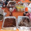 The spread at Javier and Greg\'s tailgate includes everything barbecue that you can imagine