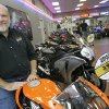 Photo - MOTORCYCLES: Don Maxey, owner of Maxey's Honda in OKC, in his store Tuesday, Aug. 19, 2008. BY JACONNA AGUIRRE, THE OKLAHOMAN. ORG XMIT: KOD