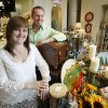 Camden Chitwood and her father Bruce Maxwell are owners of the Paper Lion store in Edmond, OK, Tuesday, Sept. 7, 2010. By Paul Hellstern, The Oklahoman