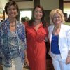 Polly Nichols, Heather Ross and Debby Dudman were at the party. (Photo by Helen Ford Wallace).