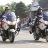 The Edmond Police Dept. leads the annual LibertyFest Fourth of July Parade in downtown Edmond, OK, Thursday, July 4, 2013, Photo by Paul Hellstern, The Oklahoman