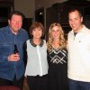 Mark and Lyn Patton, Amy Spielberger and Will Rowntree enjoy the party. (Photo provided).