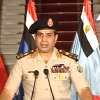 This image made from video shows Lt. Gen. Abdel-Fattah el-Sissi addressing the nation on Egyptian State Television Wednesday, July 3, 2013. Egypt\'s military chief says president is replaced by chief justice of constitutional court. (AP Photo/Egyptian State Television)
