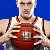 COLE ALDRICH poses for a photo during the Oklahoma City Thunder media day on Monday, Sept. 27, 2010, in Oklahoma City, Okla. Photo by Chris Landsberger, The Oklahoman