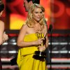 Claire Danes accepts the award for outstanding lead actress in a drama series for