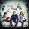 """From left, David Mazouz, Kiefer Sutherland and Maria Bello of """"Touch"""" - Fox Photo"""