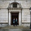 Britain\'s Chancellor of the Exchequer, George Osborne, left, walks with Chief Secretary to the Treasury, Danny Alexander, to deliver the half-yearly budget statement to parliament in London, Wednesday Dec. 5, 2012. Britain\'s Treasury chief, George Osborne, unveiled plans to kick-start the U.K.\'s moribund economy when he presented his updated budget policies to lawmakers. (AP Photo/Paul Rogers, Pool)