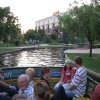 The same view of the Bricktown Canal today shows the once undeveloped Lower Bricktown built into a mix of restaurants, shops, a hotel and entertainment venues. PHOTO PROVIDED BY WATER TAXI ORG XMIT: 0906270157271163