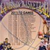 Santa Fe High School Basketball 2011 Schedule Posters.....Go Wolves!