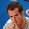 Photo - Britain's Andy Murray answers a question during a news conference ahead of the Australian Open tennis championship in Melbourne Australia, Saturday, Jan. 11, 2014. (AP Photo/Aaron Favila)