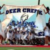 Deer Creek takes the field for a high school football game between the Carl Albert Titans and the Deer Creek Antlers on Friday, Sept. 27, 2013 in Midwest City, Okla. Photo by Steve Sisney, The Oklahoman