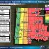 Tornadoes possible Tuesday in Oklahoma,...