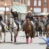 Girls ride their horses in the 89ers Day Parade in Guthrie, OK, Saturday, April 20, 2013, By Paul Hellstern, The Oklahoman