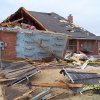 Tornado damage in Homestead edition in Edmond. Photo by William Knoles