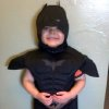 This undated image released by Make-A-Wish Greater Bay Area, shows five-year-old Miles Scott dressed as batman. With the help of the Make-A-Wish Foundation and the city of San Francisco, 5-year-old Miles Scott, aka Batkid, will rescue a woman from cable car tracks and capture the evil Riddler as he robs a downtown bank. Miles, who lives in Tulelake in far Northern California, was diagnosed with leukemia when he was 18 months old, ended treatments in June and is in remission. (AP Photo/Make-A-Wish Greater Bay Area)
