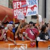 Fans pack the set of ESPN\'s College Gameday before the Red River Rivalry college football game between the University of Oklahoma Sooners (OU) and the University of Texas Longhorns (UT) at the Cotton Bowl in Dallas, Saturday, Oct. 8, 2011. Photo by Bryan Terry, The Oklahoman