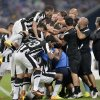 Photo - PAOK's Miroslav Stoch is celebrated in the crowd after scoring during the Champions League Qualification first leg soccer match between FC Schalke 04 and PAOK Saloniki in Gelsenkirchen, Germany, Wednesday, Aug. 21, 2013. (AP Photo/Martin Meissner)