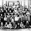 Residents of St. Joseph Children\'s Home pose for a picture in 1915. Photo provided