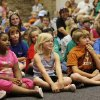 Children watch Fairy\'s Misfortune by the Lucky Penny Players at the Edmond Library, Thursday, June 4, 2009. This is the 25th year for the Lucky Penny Players. Photo By David McDaniel, The Oklahoman.