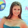 Nina Dobrev arrives at the Teen Choice Awards on Sunday, July 22, 2012, in Universal City, Calif. (Photo by Jordan Strauss/Invision/AP)