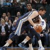 Oklahoma City\'s Hasheem Thabeet (34) defends on Memphis\' Marc Gasol (33) during the NBA basketball game between the Oklahoma City Thunder and the Memphis Grizzlies at Chesapeake Energy Arena on Wednesday, Nov. 14, 2012, in Oklahoma City, Okla. Photo by Chris Landsberger, The Oklahoman