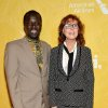 Photo - Actress Susan Sarandon, right, and Hope North founder Okello Sam attend Variety's