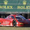 Photo - Alex Gurney drives through the infield course during his qualifying run for the IMSA Rolex 24 hour auto race at Daytona International Speedway in Daytona Beach, Fla., Thursday, Jan. 23, 2014. Gurney won the pole. AP Photo/John Raoux)
