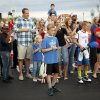 Fans wait for James Harden of the Oklahoma City Thunder at the new Raising Cane\'s in Edmond, Thursday, September 27, 2012. Photo by Bryan Terry, The Oklahoman