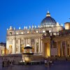 Rome\'s St. Peter\'s Square is eternal — but can change to accommodate the needs of busy tourists. The square\'s tourist-information office now offers same-day tickets to the Vatican Museum. (Photo by Dominic Bonuccelli)