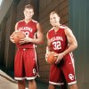 The Sooners' Blake Griffin, left, may be one of the top players in college basketball, but he still turns to older brother Taylor for fashion advice — well, at least that's the story Taylor tells. Photo By Steve Sisney, The Oklahoman