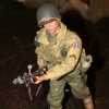 Photo - A figure representing a World War II soldier is shown in the Toy & Action Figure Museum's military display.  PROVIDED BY TOY & ACTION FIGURE MUSEUM ORG XMIT: 0712062214284059