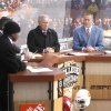 ESPN hosts Desmond Howard (left), Chris Fowler, Lee Corso, and Kirk Herbstreit coment on the day\'s games during Saturday\'s ESPN College Gameday broadcast in Stillwater, OK, Saturday, Nov. 27, 2010. By Paul Hellstern, The Oklahoman