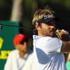 Photo - Victor Dubuisson of France tees off from the 12th hole during the third round of the Turkish Open golf tournament at the Montgomerie Maxx Royal Course in Antalya, Turkey, Saturday, Nov. 9, 2013. (AP Photo/Kaan Soyturk)