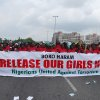 Photo - In this Monday, May 26, 2014, photo, the Nigerians United Against Terrorism group attends a demonstration calling on the government to rescue the kidnapped girls of the government secondary school in Chibok, in Abuja, Nigeria.  Nigeria's defense chief said Monday that the military has located nearly 300 school girls abducted by Islamic extremists but cannot use force to free them. (AP Photo/Gbenga Olamikan)