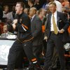 Oklahoma State\'s Keiton Page reacts during an NCAA college basketball game between the Oklahoma State University Cowboys (OSU) and the University of Texas-San Antonio Roadrunners at Gallagher-Iba Arena in Stillwater, Okla., Wednesday, Nov. 16, 2011. Photo by Bryan Terry, The Oklahoman