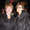 GOLF SHOP GRAND OPENING....Ann Johnstone and Charlotte Richels were at the party. (Photo by Helen Ford Wallace).