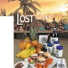 "Photo - ""LOST"" SUPPER / FOOD / GRAPHIC / ILLUSTRATION with story: Popular TV show's series finale good excuse for a themed watch party WITH PHOTOS FROM TOP: 1) ""Lost"" cast (Photo unavailable) Photo 2: Food illustration for the last episode of Lost  at the OPUBCO studio Friday, May 14, 2010. Photo by Doug Hoke, The Oklahoman."