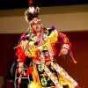 Dancer Oliver Plumley performs a Grass Dance at an International Dance Competition in the Sharp Auditorium on the campus of the University of Oklahoma (OU) in Norman, Oklahoma on Saturday, February 23, 2008. BY STEVE SISNEY, THE OKLAHOMAN